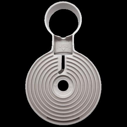 Google Home Mini wandhouder achterkant -Domotiq