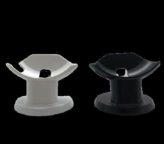 Google Nest Mini standaard in de kleuren zwart & wit
